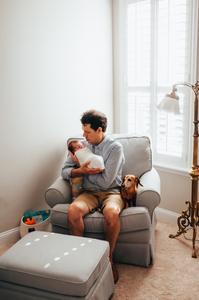 best jacksonville lifestyle newborn photographers