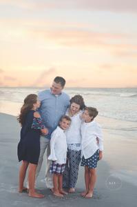 Beach Family Portraits Jacksonville FL