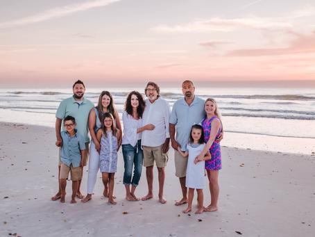 Sunrise Beach Family Photos