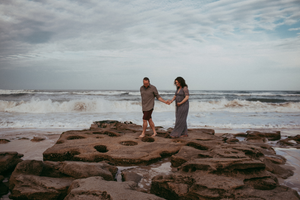 crescent beach maternity shoot