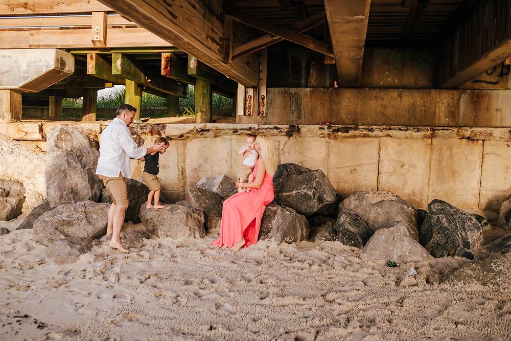 family photographer in st augustine beach fl