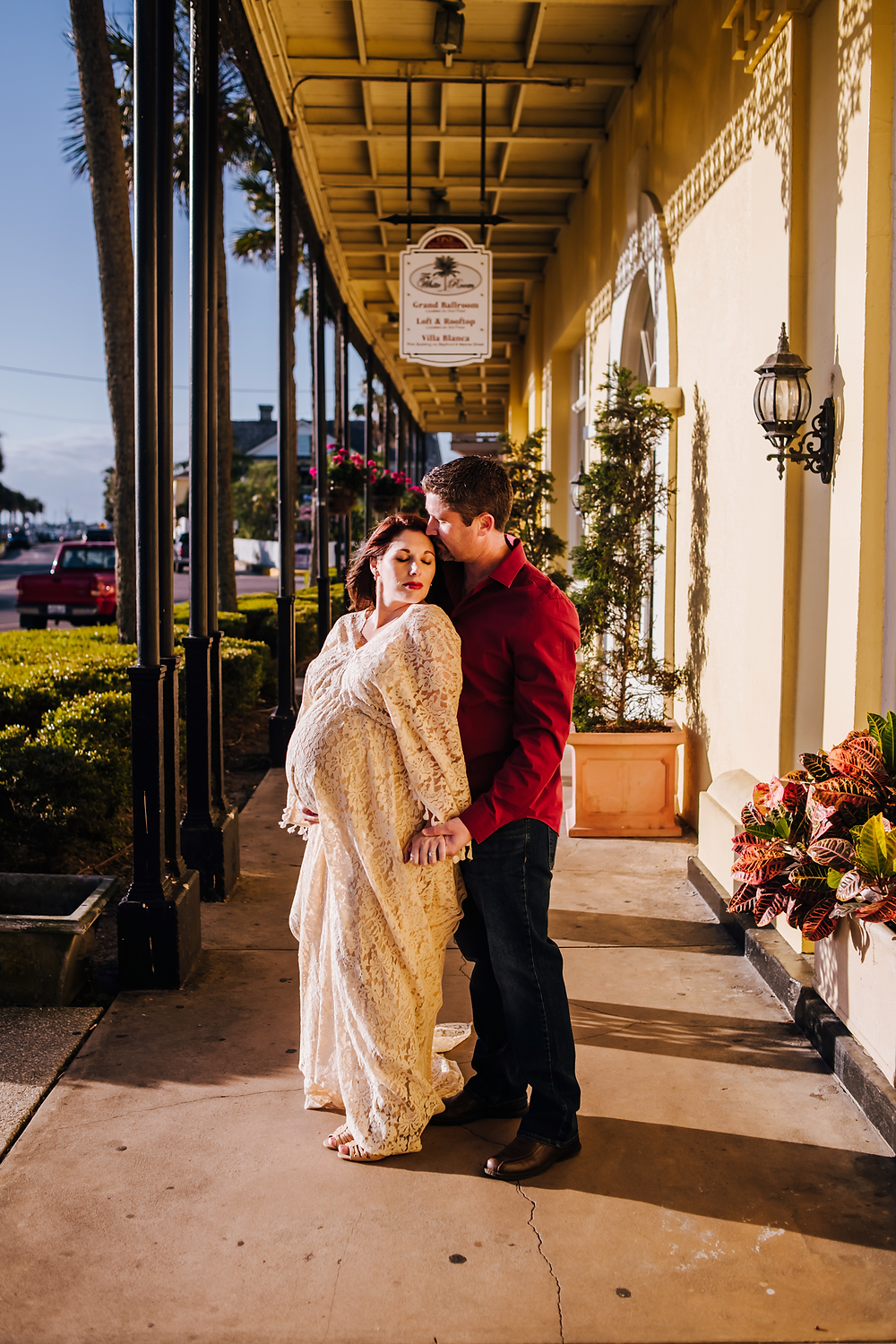 maternity photography st augustine fl