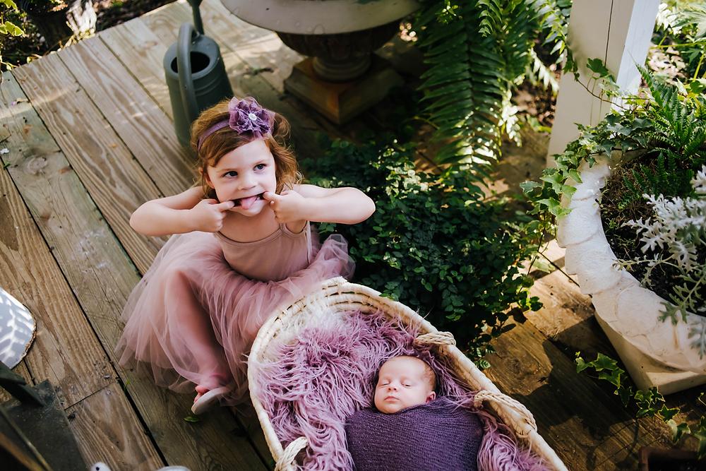 newborn photographer in st augustine