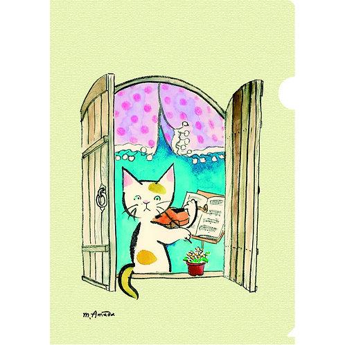 A5シングル・ファイル〈窓辺のヴァイオリニスト〉