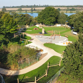 NEW PLAY AREA AT NENE PARK