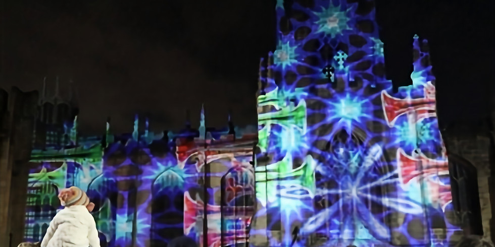 Illuminations Display: The Angels are Coming