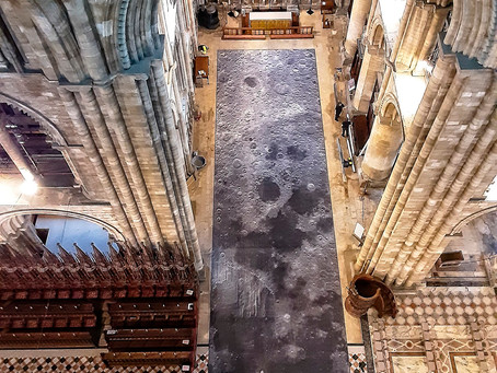 SEE THE 'MOON WITH A VIEW' AT PETERBOROUGH CATHEDRAL