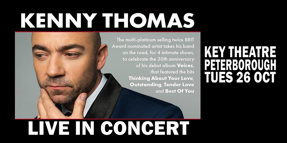 Kenny Thomas in Concert