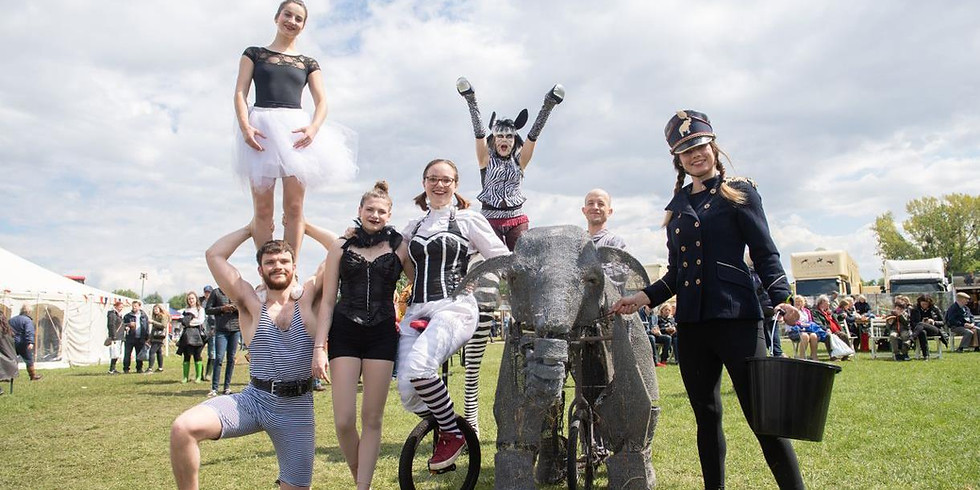 Victorian themed Circus and Parade