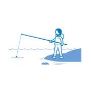Onkia, kalastaa