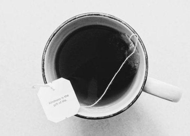 Herbal teabag road to enlightenment