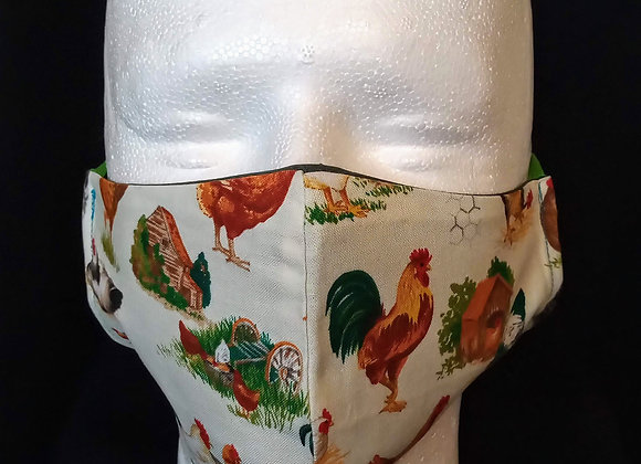 Face Mask, Chickens.