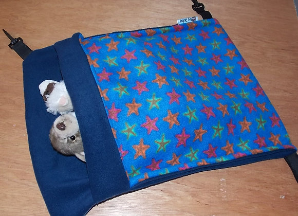 Large Snuggle Sack, Starfish / Blue