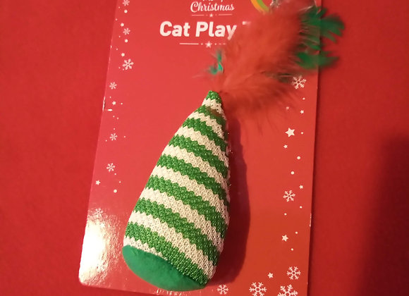Soft Festive Feather Toy.