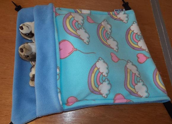 Giant Snuggle Sack, Love Rainbows.