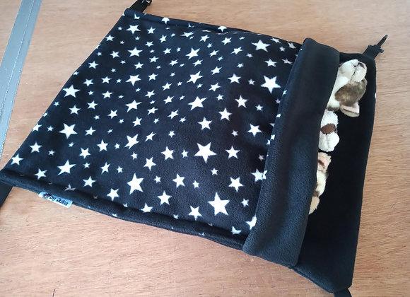 Giant Snuggle Sack, Black Stars.