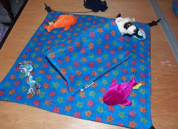2ft x 2ft Play Hammock, Starfish / Blue