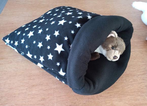 Padded Sleeper Sack, Black Stars.