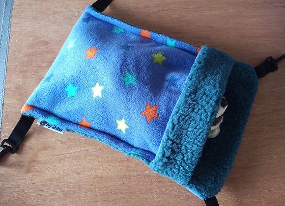Small Snuggle Sack, Blue-Violet.