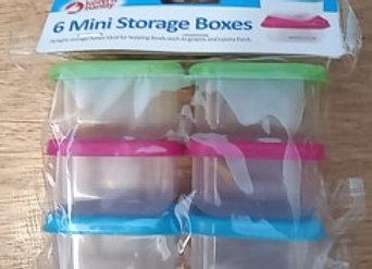 Mini Food Storage Pots.