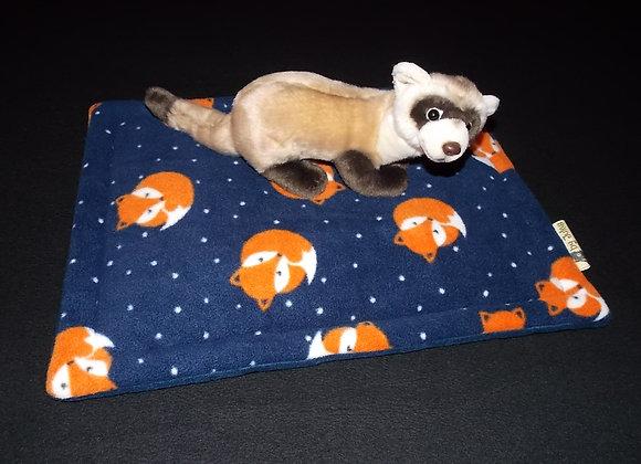Padded Floor Mat, Sleepy Fox