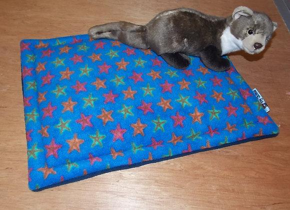 Padded Floor Mat, Starfish / Blue
