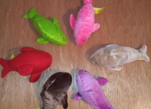Plush Dolphin Toy.