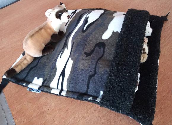 Giant Snuggle Sack, Arctic Camo.