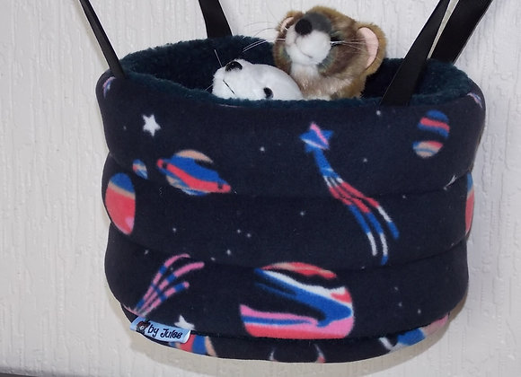 Padded High Snuggly Bed, Milky Way.