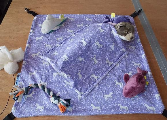 2ft Play Hammock, Lilac Unicorns.