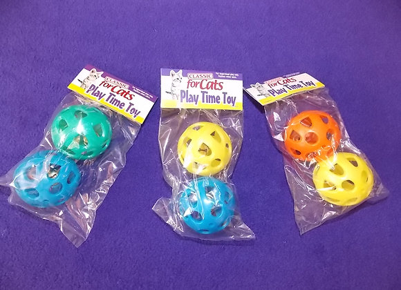 Lattice Jingly Balls, pack of 2