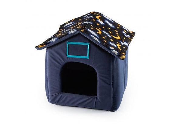 Moon + Stars Cosy Pet House.