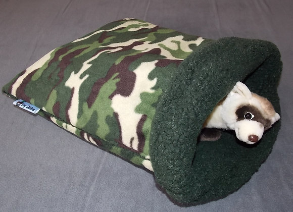 Padded Sleeper Sack, Forest Camo.