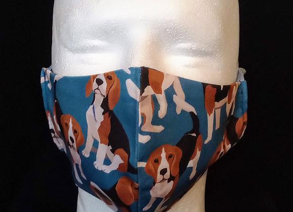 Face Mask, Beagles.