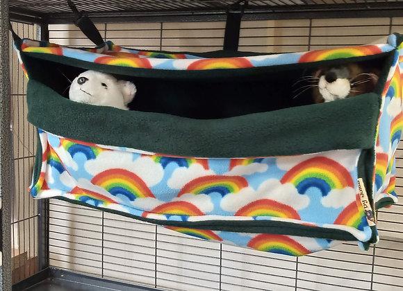 Giant Cosy Cube, Rainbows.