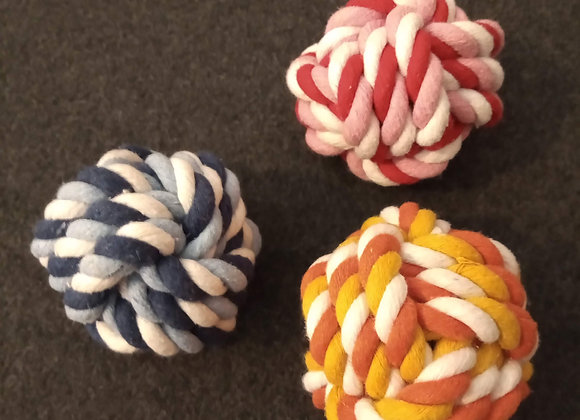 Knotted Rope Ball.