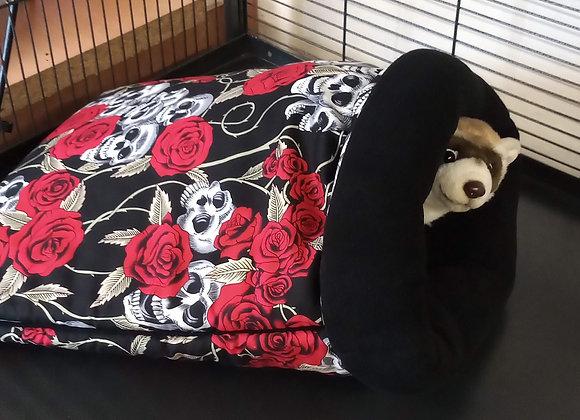 Padded Sleeper Sack, Skulls n Roses.