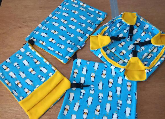 4 Piece Set , Penguins.