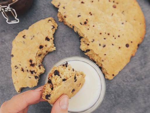 """Cookies géant façon """"mie caline"""", sans beurre"""