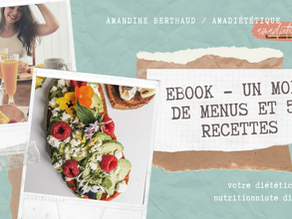 EBOOK 1 MOIS DE MENUS - 50 recettes