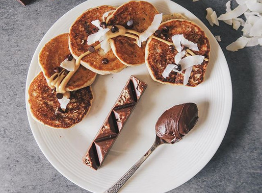 Pancakes moelleux (vegan, sans gluten mais pas sans goût)