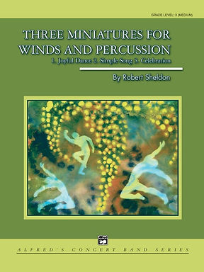 三個打擊樂小曲/Three Miniatures for Winds and Percussion