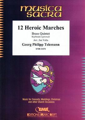 十二首英勇進行曲曲集 12 Heroic Marches
