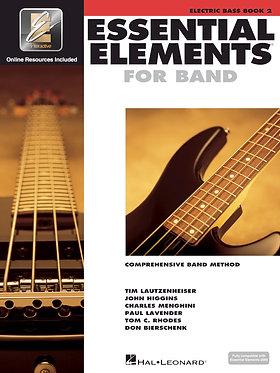 管樂團基礎素材 ESSENTIAL ELEMENTS FOR BAND BOOK 2 -電貝斯