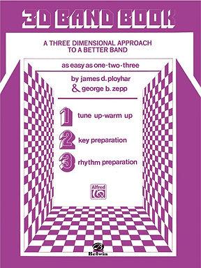 3 D Band Book: Baritone (T.C.) Book