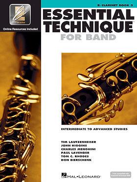 《管樂團基礎能力》 進階練習的預備課程- Bb 單簧管
