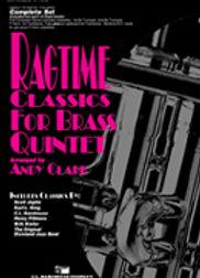 爵士經典銅管五重奏 Ragtime Classics for Brass Quintet-Horn