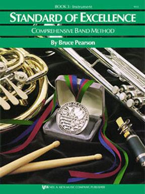 史丹達爾最佳管樂教程 - 定音鼓+輔助打擊樂器 第三冊英文版