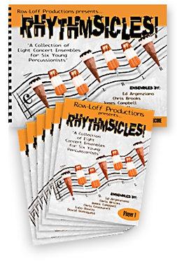Rhythm Sicles室內打擊樂重奏曲集