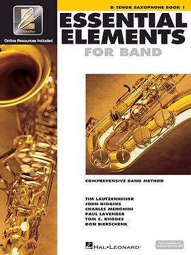 管樂團基礎素材 ESSENTIAL ELEMENTS FOR BAND BOOK1 - Bb 次中音薩克斯風